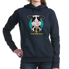 Cow Ice Cream Hooded Sweatshirt
