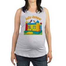 bounce castle kids cp.png Maternity Tank Top