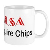 &quot;Salsa Chips&quot; Mug