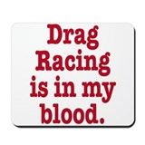 Drag Racing Mousepad