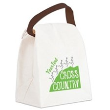 Customize Cross Country Runners Canvas Lunch Bag
