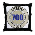 Lifelist Club - 700 Throw Pillow