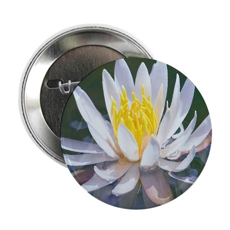 "Lotus Blossom 2.25"" Button (10 pack)"