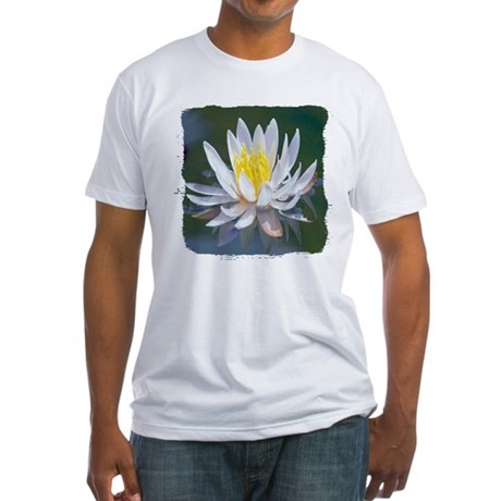 Lotus Blossom Fitted T-Shirt