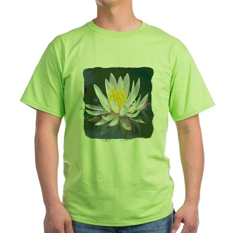 Lotus Blossom Green T-Shirt