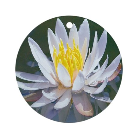 Lotus Blossom Ornament (Round)