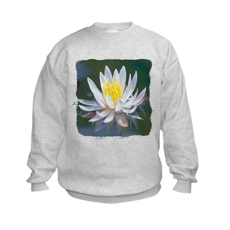 Lotus Blossom Kids Sweatshirt