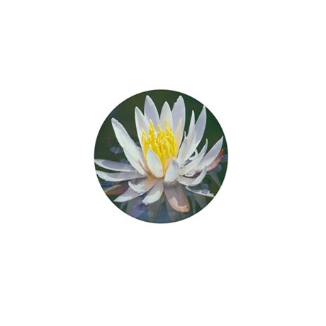 Lotus Blossom Mini Button