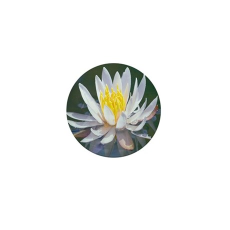 Lotus Blossom Mini Button (10 pack)