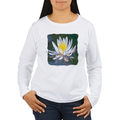 Lotus Blossom Women's Long Sleeve T-Shirt