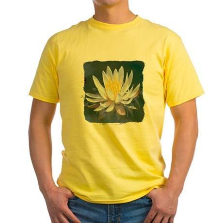 Lotus Blossom Yellow T-Shirt