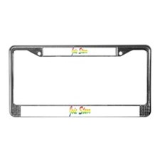 Unique And drive License Plate Frame
