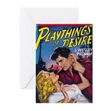 Playthings Of Desire Greeting Cards