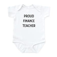FINANCE teacher Infant Bodysuit