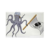 Octopus Rectangle Magnet (10 pack)