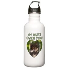 nuts over you Water Bottle