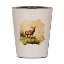Young Bull Elk Shot Glass