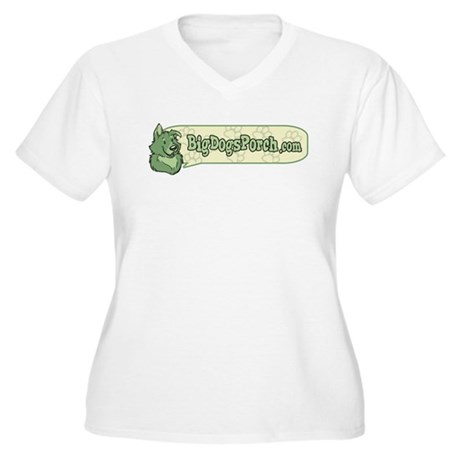 BDP Logo Women's Plus Size V-Neck T-Shirt