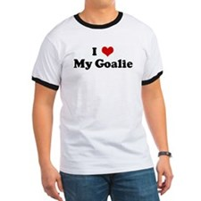 I Love My Goalie T