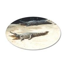 crocodiles Wall Decal Sticker