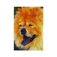 Chow Chow Dog Rectangle Magnet