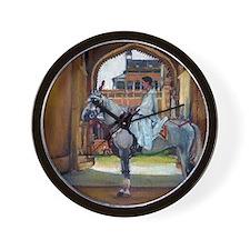 Marwari Horse Wall Clock