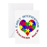 Early Intervention Teachers R Greeting Cards (Pack
