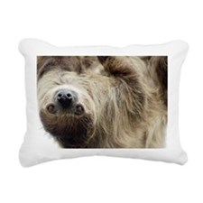 Sloth Rectangular Canvas Pillow