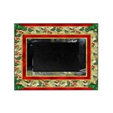 Canaan Dog Christmas Picture Frame