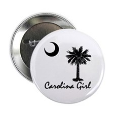 "Carolina Girl 2.25"" Button"