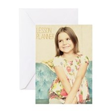 Anya Lesson Planner 2013-2014 Greeting Card