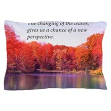 Autumn Pond  And New Perspective Pillow Case