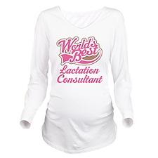 Lactation Consultant Long Sleeve Maternity T-Shirt