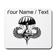Custom Paratrooper Skull Mousepad