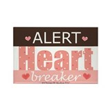 Heartbreaker Rectangle Magnet