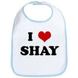 I Love SHAY Bib