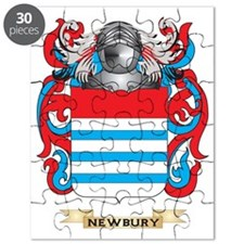 Newbury Coat of Arms (Family Crest) Puzzle