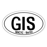 GIS Oval Decal