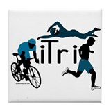 iTri Tile Coaster