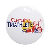Future Triathlete Ornament (Round)