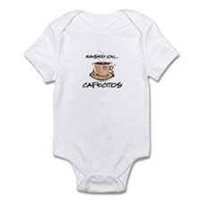 Raised on Cafecito Infant Bodysuit