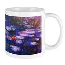 Monet Blue Waterlilies Mugs