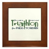 Triathlon - The Pride is Forever Framed Tile