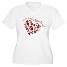 Love Is A 4 Legged Word T-Shirt