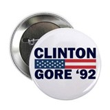 Clinton - Gore 92 Button
