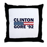 Clinton - Gore 92 Throw Pillow