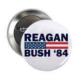 "Reagan - Bush 84 2.25"" Button (100 pack)"