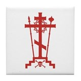 Orthodox Schema Cross Tile Coaster