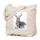 Jackalope Tote Bag