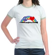 Peace Love Clarine T-Shirt
